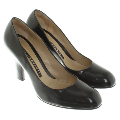 Fratelli Rossetti pumps made of lacquered leather