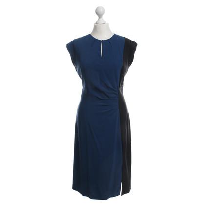 Etro zwart/blauwe jurk