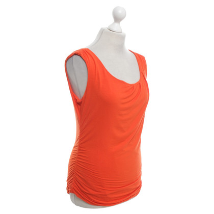 "Diane von Furstenberg Top ""Gussy"" in Orange"