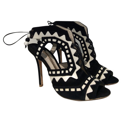 Sophia Webster  High-heeled in black / white