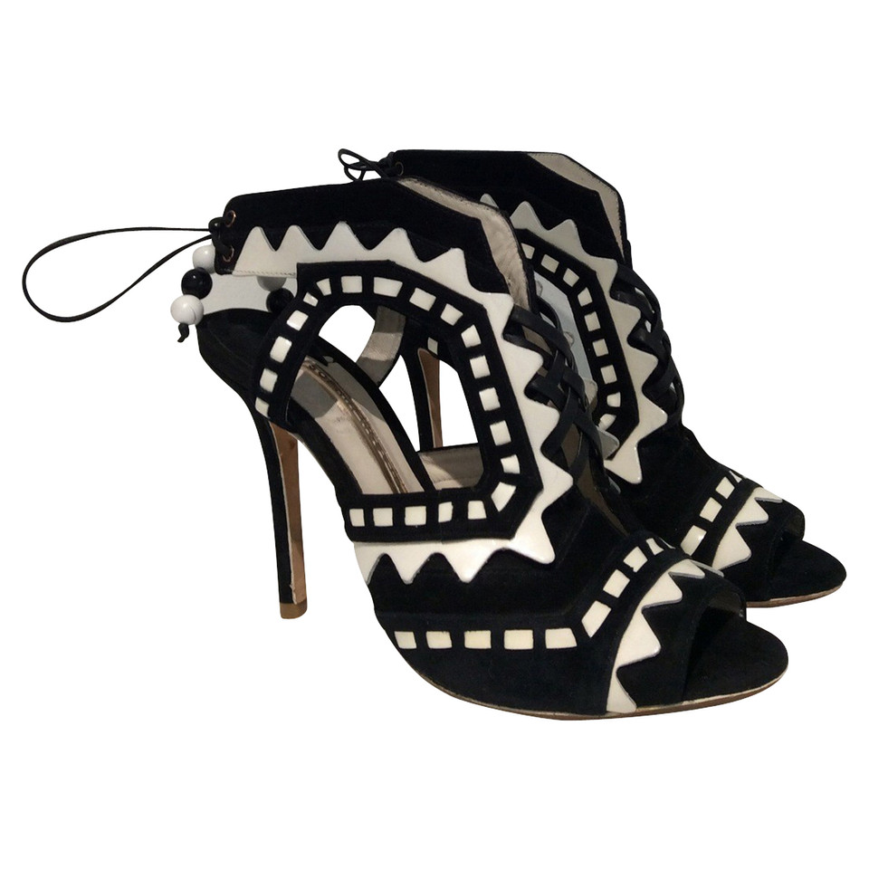 Sophia Webster  High-heeled in black / white