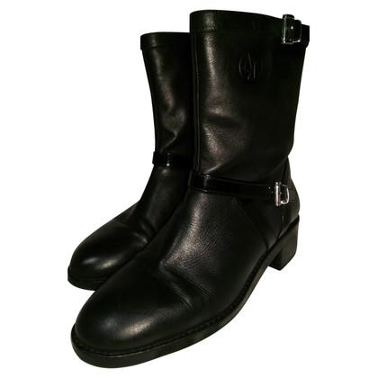 Armani Jeans Biker Boots