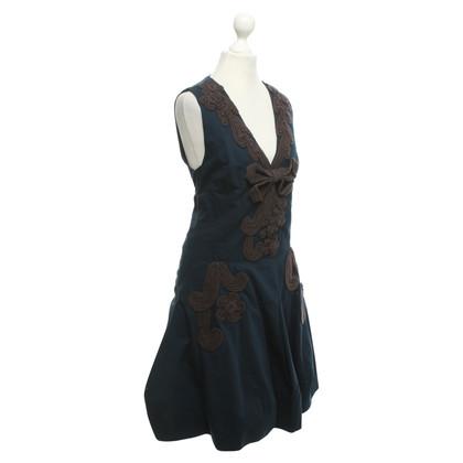 Hoss Intropia Kleid in Blau