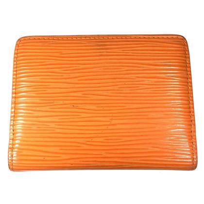 Louis Vuitton Ludlow Epi Leder Mandarin Orange