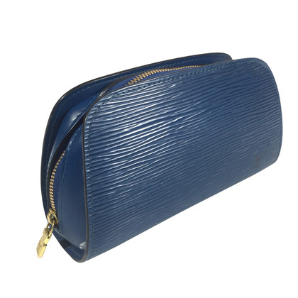 "Louis Vuitton ""Dauphine Epi Leder"" in Blau"