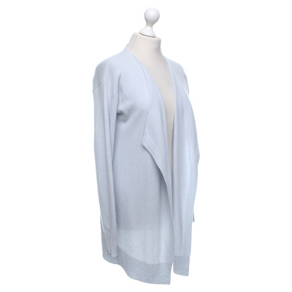 Allude Cashmere cardigan in ice blue