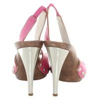 Dolce & Gabbana Peeptoes in pink