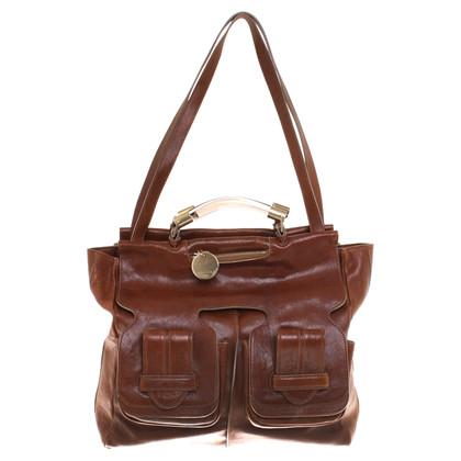 Chloé Tote Bag in Fuchsfarben
