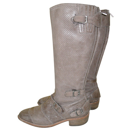 Belstaff Boots in the biker look