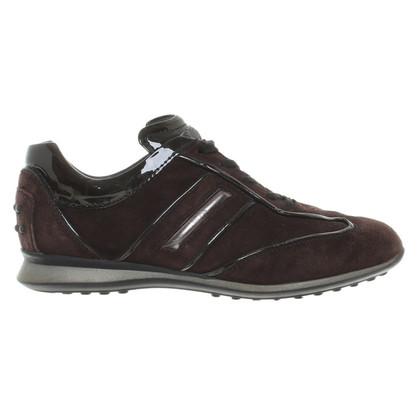 Tod's Sneakers brown suede