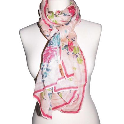 John Galliano foulard floreale