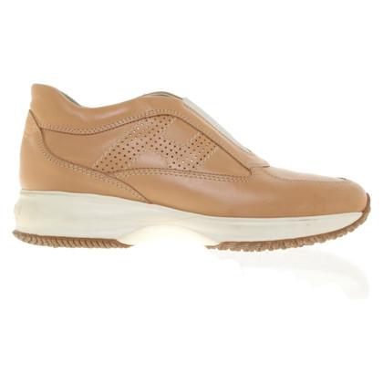 Hogan Leren slippers