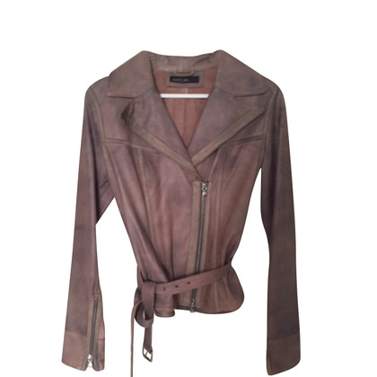 Marc Cain Marccain Leather Jacket