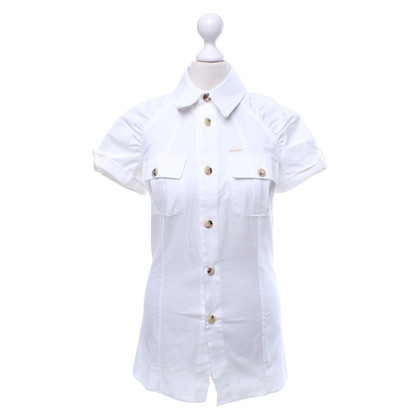 Dsquared2 Short sleeve blouse in white