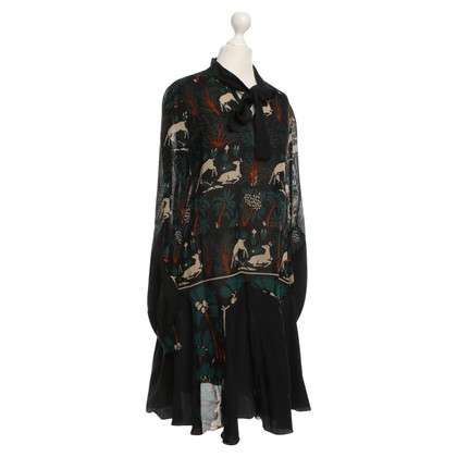 Anna Sui Dress with pattern