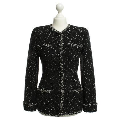 Chanel Blazer in black and white