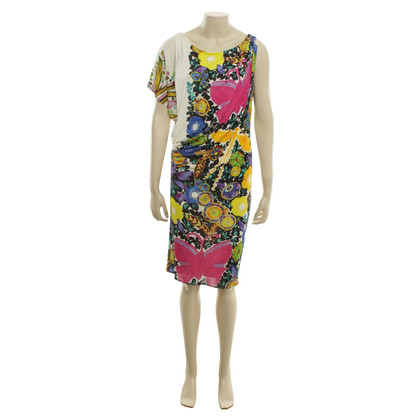 Roberto Cavalli Kleid mit floralem Print