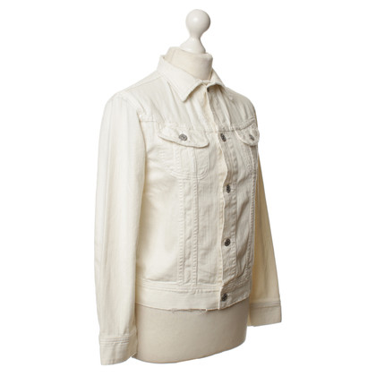 Citizens of Humanity Denim jacket in cream