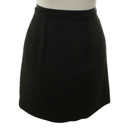 Comptoir des Cotonniers Mini skirt in black