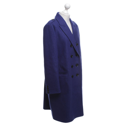 Burberry Coat in royal blue