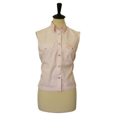 Moschino 脛rmellose Bluse Rosa / Pink