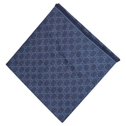 Gucci Guccissima doek in blauw