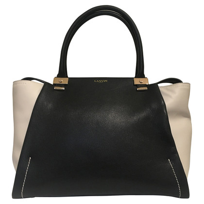 Lanvin Handbag in black / beige