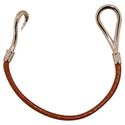 Hermès Lederen armband