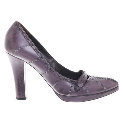Bottega Veneta pumps in viola