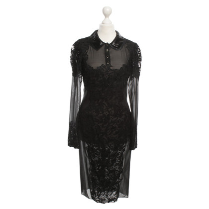 Emilio Pucci Lace dress in black