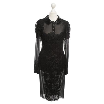Emilio Pucci Kant jurk in zwart