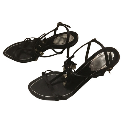 René Caovilla Black sandals