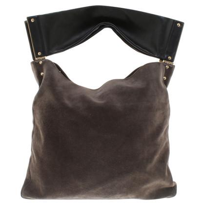 Lanvin Suede Tote Bag