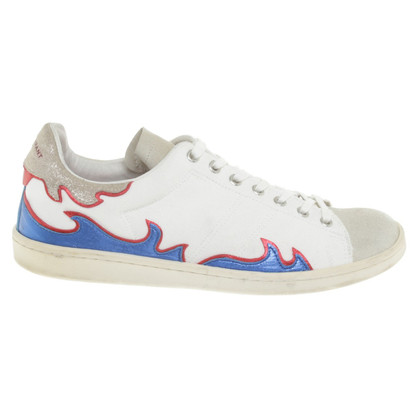 Isabel Marant Sneakers with flame motif