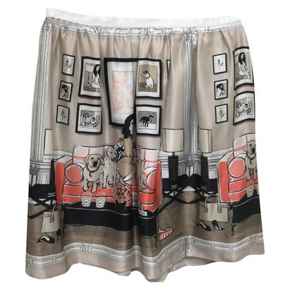 Elisabetta Franchi print skirt