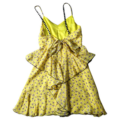 Anna Sui Yellow patterned dress