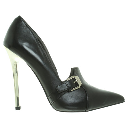 Versace pumps with metal heel