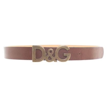 D&G Ceinture en marron