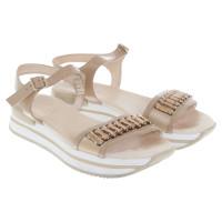 Hogan Sandals in beige