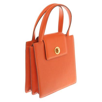 Bulgari Leather Handbag