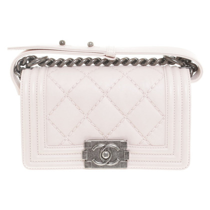 "Chanel ""Boy Bag"" in het roze"