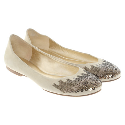 Kennel & Schmenger Ballerinas with sequin trim