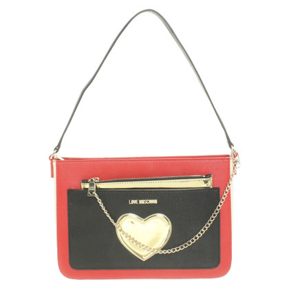 Moschino Love Shoulder bag with heart