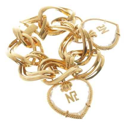 Nina Ricci braccialetto color oro