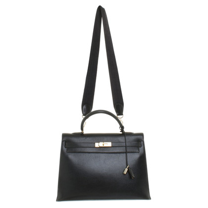 "Hermès ""Kelly Bag 35"" in black"