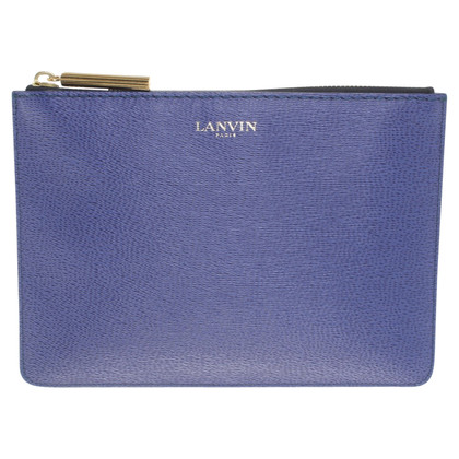 Lanvin clutch made of leather