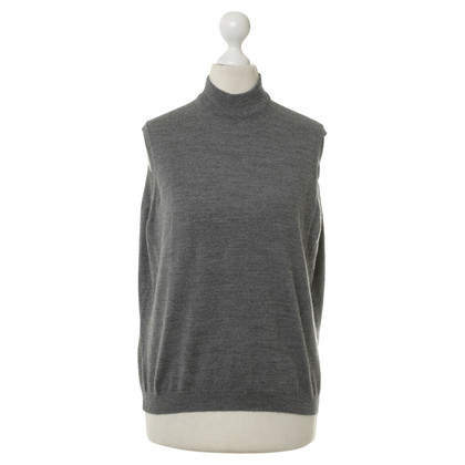 Rodier Tank top with stand-up collar