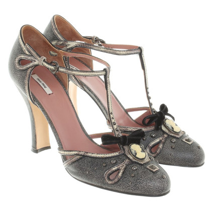 Miu Miu pumps, with straps