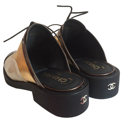 Chanel Chanel oxford clogs 38