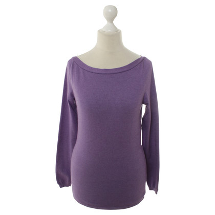Bruno Manetti Strickpullover in Violett